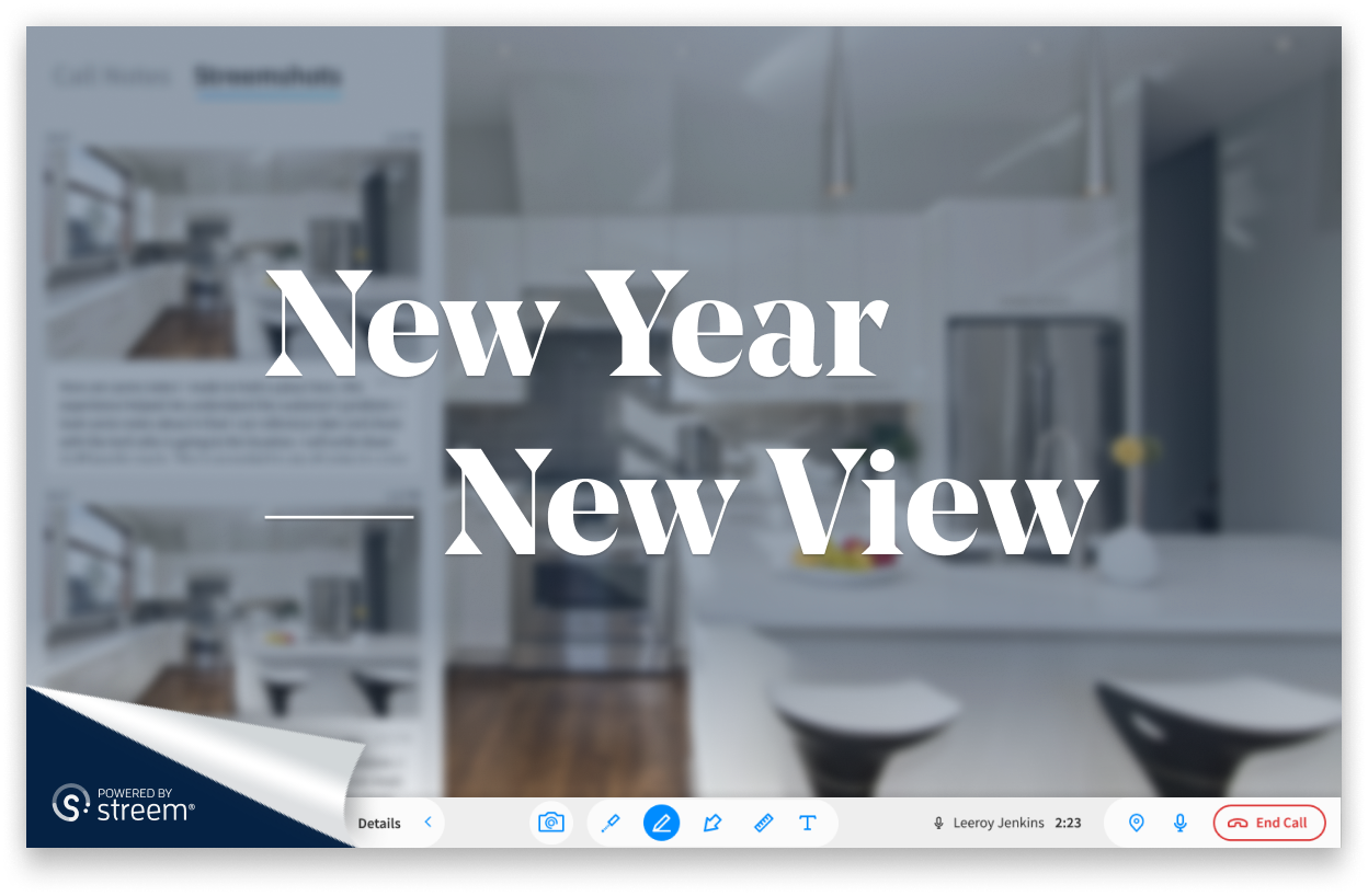 New Year New You: Streem remote video calling