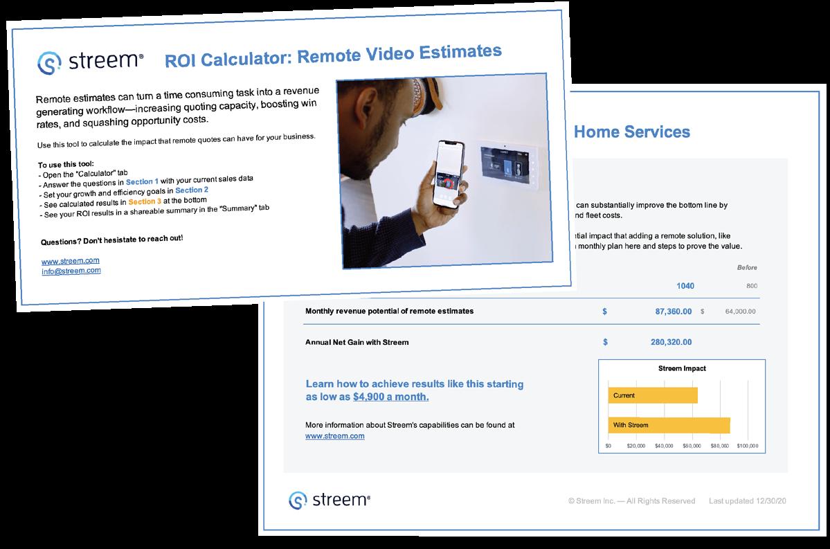 ROI Calculator: Remote Video Estimates
