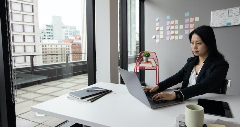 Executive Brainstorming Digital Transformation Strategy